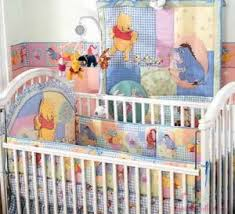 Decorate Your Nursery Room with Winnie the Pooh Crib Bedding Set