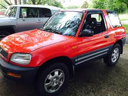 picked this guy up a few weeks ago 1996 rav4 awd 5 speed manual 2