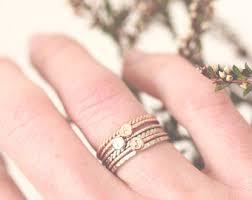 custom initial rings custom ring etsy