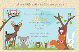 Baby Invitation Card Color Baby Shower Invitation Cards