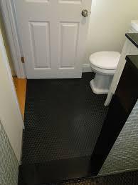 black highgloss concrete paint for bathroom floor bathroom