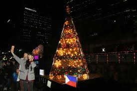 a pinoy in korea the philippine christmas tree lights up in seoul