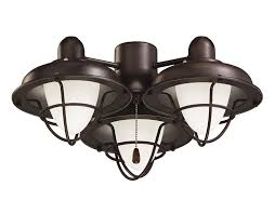 Ceiling Light Emerson Ceiling Fan Light Fixtures Lk40orb Boardwalk Cage Ceiling