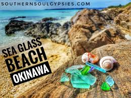 Glass Beach Sea Glass Beach In Okinawa Japan One Of The Most Unique Places