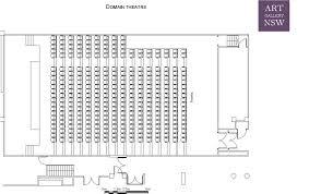 Art Gallery Floor Plan by Domain Theatre Venue Hire Facilities Plan Your Visit
