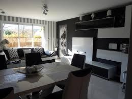 Deco Cuisine Gris Et Noir by Beautiful Interieur Maison Moderne Salon Gallery Design Trends