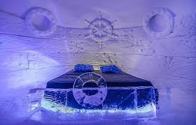 norway northern lights hotel ice snow hotel northern lights and husky sled dogs adventure