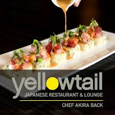 am agement cuisine yellowtail japanese restaurant and bar by back 498 photos