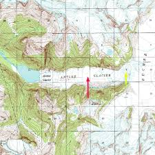 Alaska Topo Maps by Demise Of Antler Glacier Juneau Icefield Alaska From A