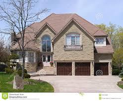large suburban house stock photo image 31972960