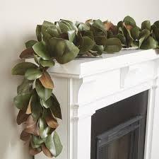 birch faux magnolia leaf garland reviews wayfair