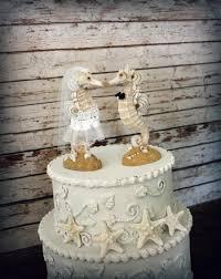 seahorse cake topper seahorse wedding cake topper wedding seahorse