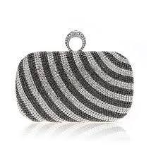 pochette femme mariage luxe cristal de diamant sac de soiree sac à pochette chaîne
