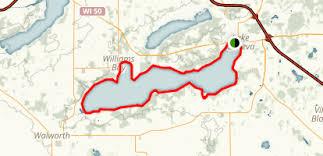 map of lake geneva wi lake geneva trail wisconsin alltrails com