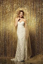 wedding backdrop gold photobooth background best choice 4ftx7ft gold sequin