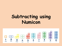 subtraction from 10 using numicon by choralsongster teaching
