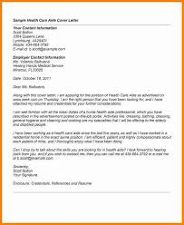cover letter examples for care assistant cover letter examples healthcare ex