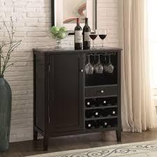 k u0026 b espresso finish wine rack free shipping today overstock