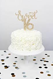 16 cake topper glitter sweet 16 cake topper handmade cake topper gold glitter