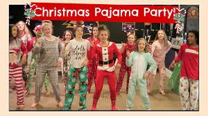 christmas pajama party u0026 secret santa gift exchange flippin