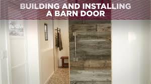 How To Make A Barn Door Track Build And Install A Barn Door Diy