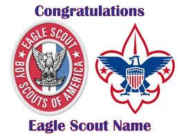 eagle scout cake topper boy scouts trish gayle