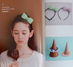 japanese hair accessories kawaii hair accessories japanese crochet sewing craft book
