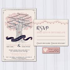 navy and blush wedding invitations string light wedding invitations tree wedding invites navy blue