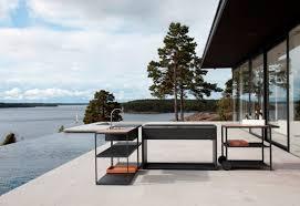 outdoor kitchens on gardenista