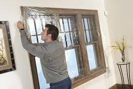 Do Curtains Insulate Windows 3m Indoor Window Insulator Kit 5 Window Weatherproofing Window