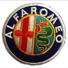 alfa romeo logo png aufnäher bügelbild alfa romeo auto logo fans bunt 7 0 x 7