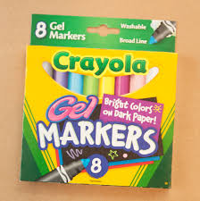 pen review crayola gel markers crafts pinterest markers