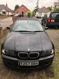 bmw 330ci convertible black for sale 2100 ono in ipswich
