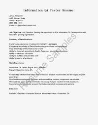Test Engineer Resume Template Manual Testing Sle Resumes 28 Images System Tester Resume