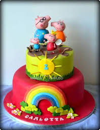 George Pig Cake Decorations 62 Best Taarten Peppa Pig Images On Pinterest Peppa Pig Cakes