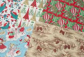 vintage christmas wrapping paper retro vintage christmas gift wrap 50s 60s 70s wrapping paper tags