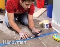 repair and reglue sheet vinyl floors family handyman