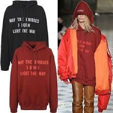 may the bridges i burn light the way vetements new may the bridges i burn light the way hoodie hooded sweatshirt