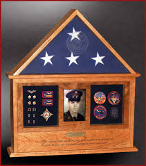 3x5 Flag Display Case With Certificate Military Shadow Boxes For Retirements