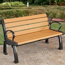 park benches furniture park benches with plastics commercial recycled plastic