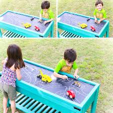 tall sand and water table how to make a sand and water table