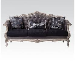 Chesterfield Sofa In Fabric by Chantelle Sofa In Fabric By Acme W Optional Items