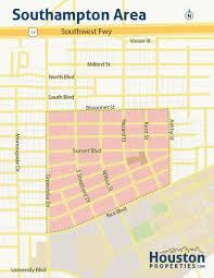 Map Of Kent State University by Southampton Place Houston Maps Southampton Neighborhood Maps
