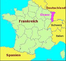Deutschland Und Frankreich Karte by Frankreich Karte Elsass My Blog