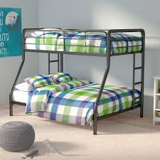 Viv Rae Maryanne Twin Over Full Bunk Bed  Reviews Wayfair - Full bunk beds