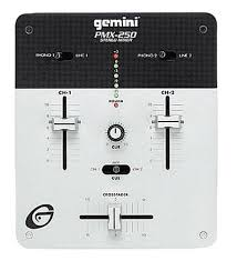 what can i do with a gemini pmx 250 mixer besides djing home