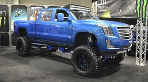 cadillac escalade 2017 lifted here s what a 2015 cadillac escalade ext monster pickup would look like