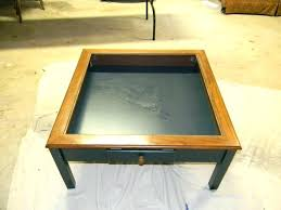 glass top display coffee table display top coffee table cfee cfee cfee white glass top display