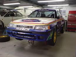 1992 subaru legacy autosportif subaru rally car preparation colin mcrae