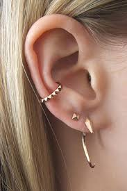 cartilage piercing earrings 90 ways to express your individuality with a cartilage piercing
